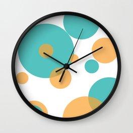 Transparent Layered Circles Wall Clock