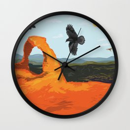 Keepers of the Arches Wall Clock