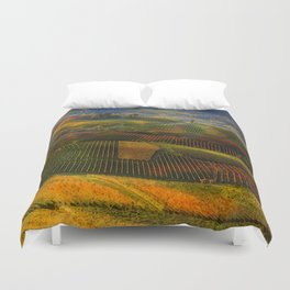 Tuscany, italian wineyards Duvet Cover