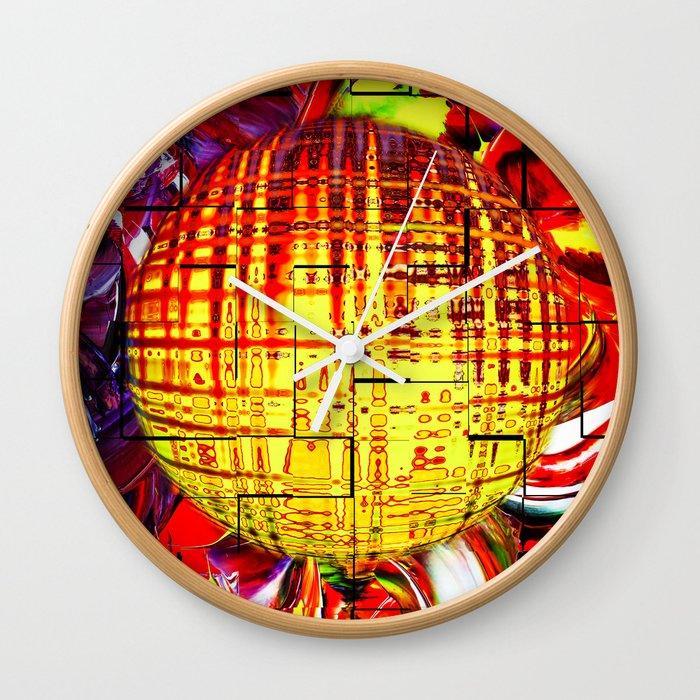 Abstract Perfection 24 Wall Clock By Walterzettl Society6
