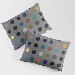 Kokopelli - Colorful Abstract Dots Art Pillow Sham