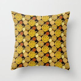 Pizza Planets Throw Pillow