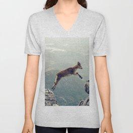 Mountain Goat Unisex V-Neck