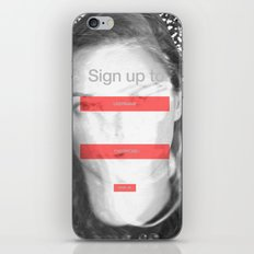 SOCIAL NETWORK iPhone & iPod Skin