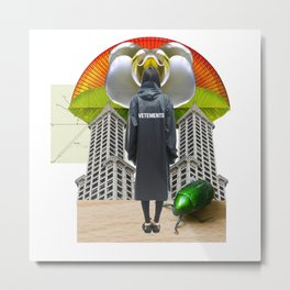 Vetements Crush by Lenka Laskoradova Metal Print