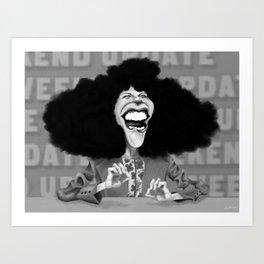 Roseanne Roseannadanna Art Print