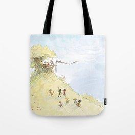 Pirate Tree House Tote Bag