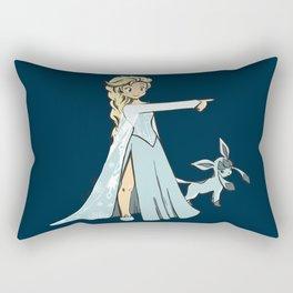 Trainer Elsa Rectangular Pillow