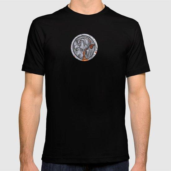 the orange prisoner T-shirt