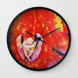 Pray for Peace Wall Clock