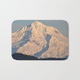 Twilight Over Mount Hood Bath Mat