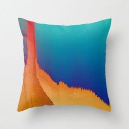 Summer Slasher Throw Pillow
