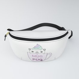 Mug of Pug Fanny Pack
