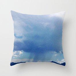Mountain Storm Throw Pillow