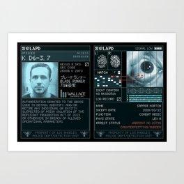 K D6-3.7 LAPD Detect Device Art Print
