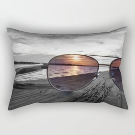 Sunset Perspective Rectangular Pillow