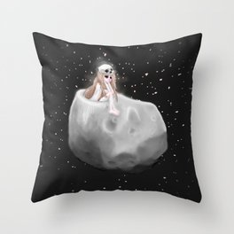 Lost in a Space / Phobosah Throw Pillow