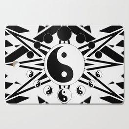 Yin Yang Orbit (2) Cutting Board
