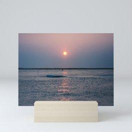 Sunrise over the Atlantic Mini Art Print