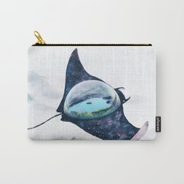 Space Manta Ray Carry-All Pouch