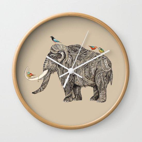 TUSK Wall Clock