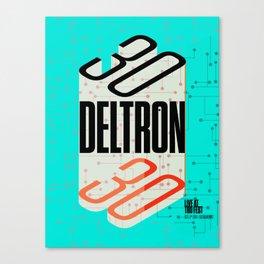 Deltron3030 TBD Fest Poster Canvas Print