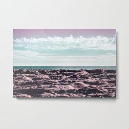 Pinksy Beachy Metal Print