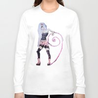 girly Long Sleeve T-shirts featuring So girly by CokecinL