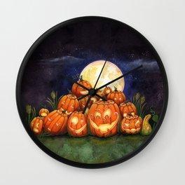 Pumpkin Palooza Wall Clock