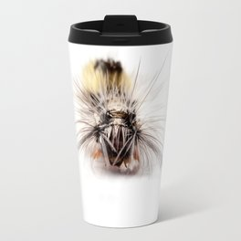 Catepillar on my table Travel Mug