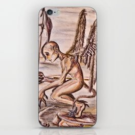 Agel of demons iPhone Skin