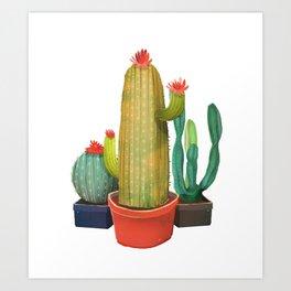 New Pocket Cactus Art Print
