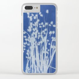 Cyanotype No. 1 Clear iPhone Case