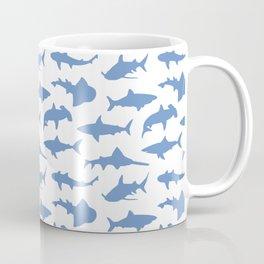 Sharks in Danube Blue Coffee Mug