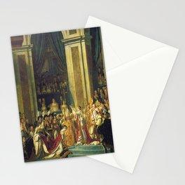 Napoleon Bonaparte Crowning Stationery Cards