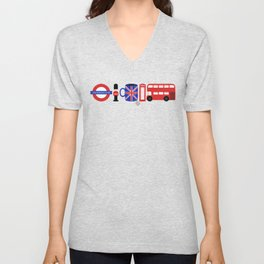 Welcome to London Unisex V-Neck