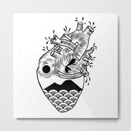 Cuore di Napoli Metal Print