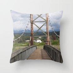 Tolt McDonald Bridge Throw Pillow
