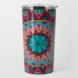 Heart and Soul Mandala Travel Mug