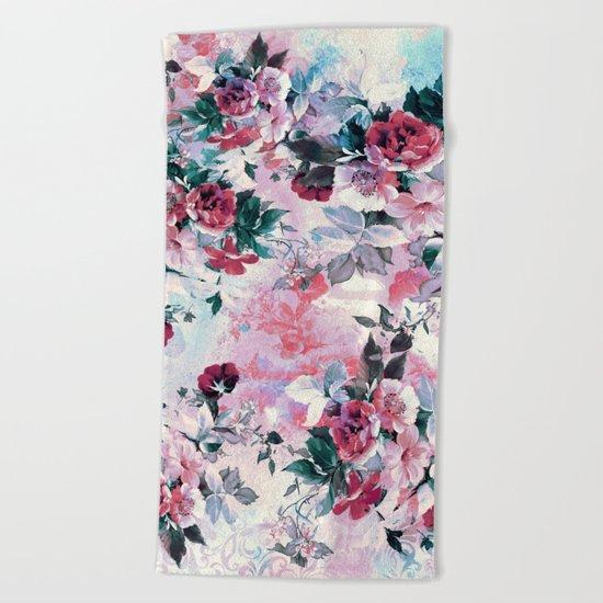 Beautiful Roses Beach Towel