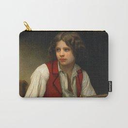 "William-Adolphe Bouguereau ""Italien à la mandoline (Italian with mandolin)"" Carry-All Pouch"