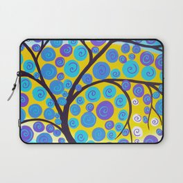 Aqua Tree of Life Laptop Sleeve