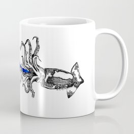 Space squid Coffee Mug