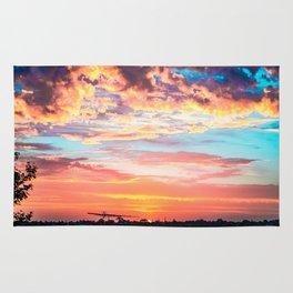 Lush Sunsets Rug