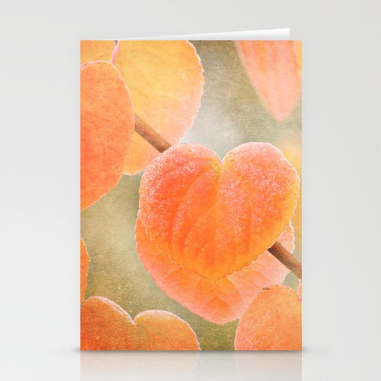 Fading Hearts Stationery Cards
