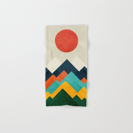 The hills are alive Hand & Bath Towel