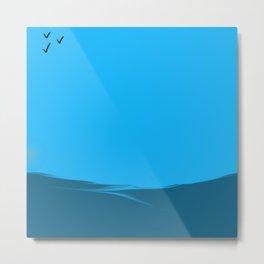 Ocean By Onyx Metal Print