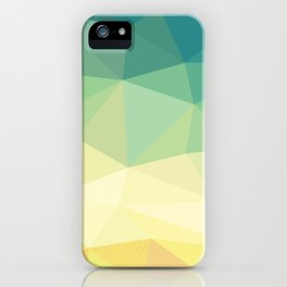 Green to Yellow iPhone Case