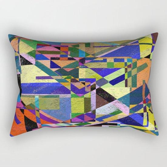 Geometric Wonder! Rectangular Pillow