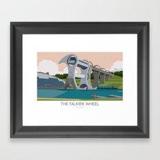 The Falkirk Wheel Framed Art Print